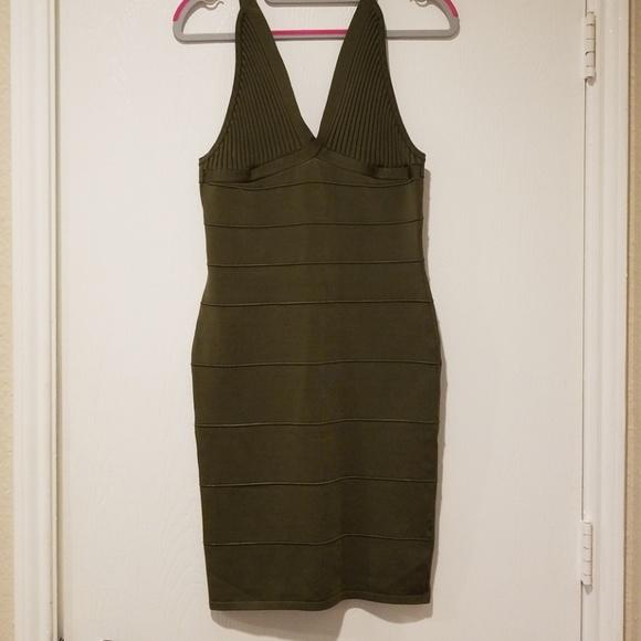 Tata Jolie Dresses & Skirts - Army green bandage dress